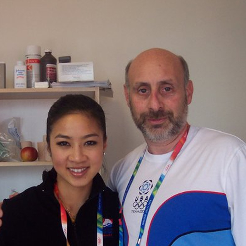 Superstar Michele Kwan and Dr. Shapiro